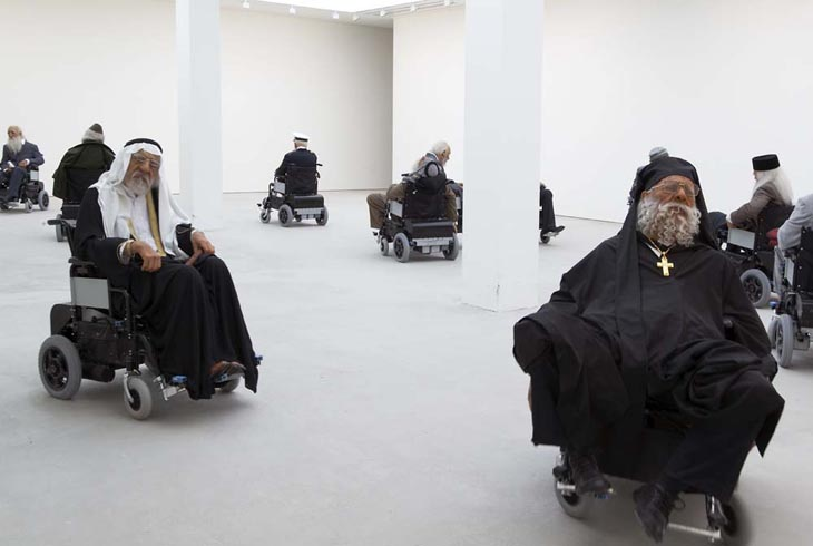 Sun Yuan and Peng Yu - Old Persons House (Saatchi Gallery, 2007)