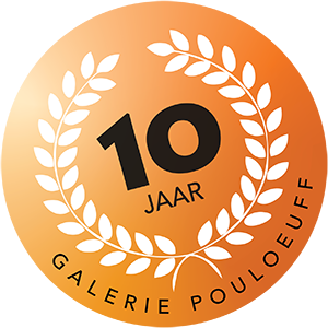 Galerie Pouloeuff 10 jaar Logo